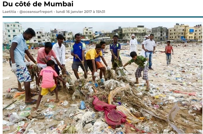 La plage la plus polluée